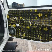 Fiat 500c sistema de som por Rosendo High-End