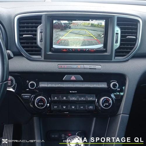 Kia Sportage auto-rádio 2din