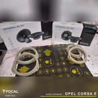 Colunas Focal Opel Corsa E por ODC Customs