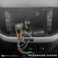 Adaptador auto-rádio 2din Vw Sharan