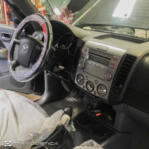 Integração 2Din Mazda