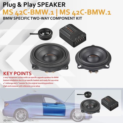 Sistema de som BMW