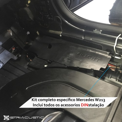 Audio upgrade Mercedes E W213
