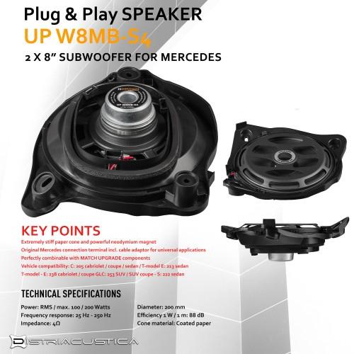 Audio upgrade Mercedes E W213