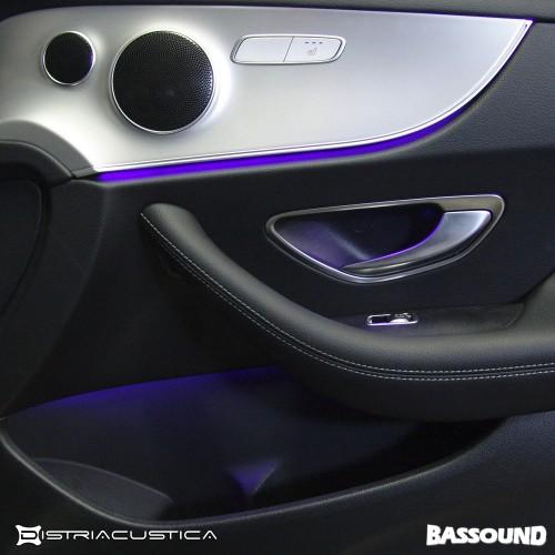 Audio upgrade Mercedes E C238