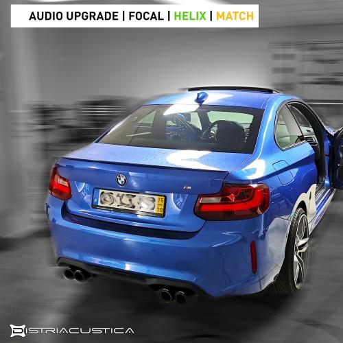 Audio upgrade BMW M2 Focal Helix Match