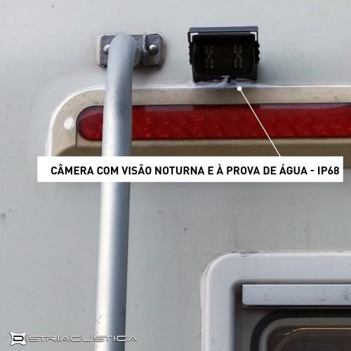Câmera traseira autocaravana