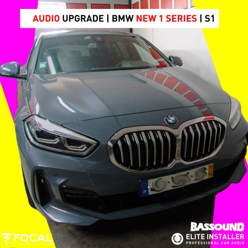 BMW Série 1 Audio Upgrade
