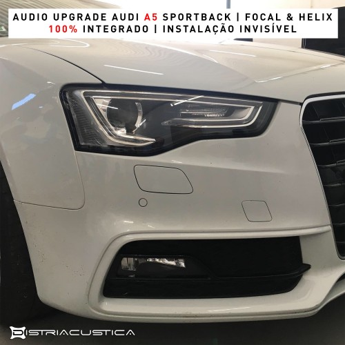 Audi A5 audio upgrade
