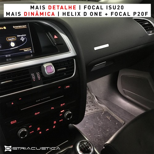 Audi A5 sistema de som