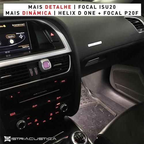 Audi A5 Sportback audio upgrade