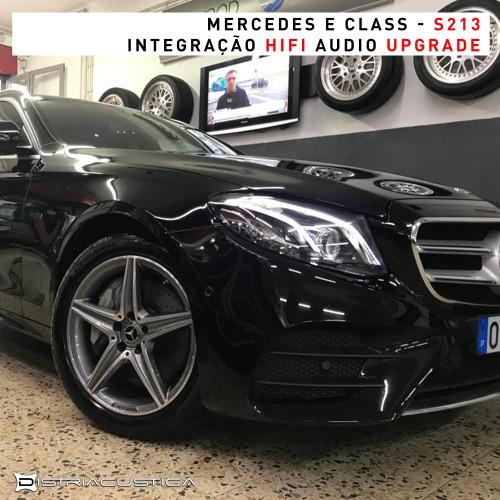 Mercedes E Class HiFi