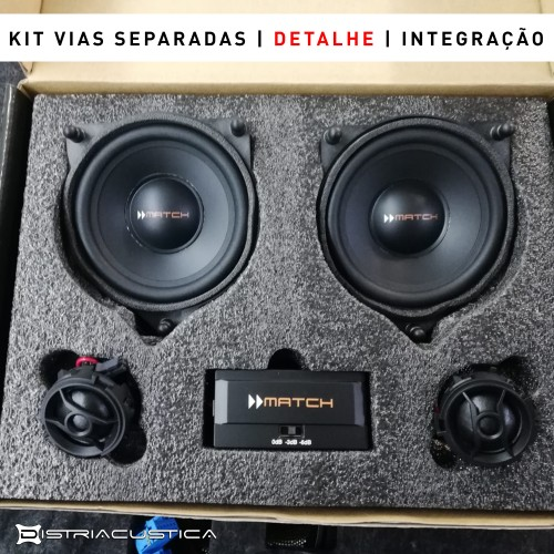 Mercedes E sistema de som