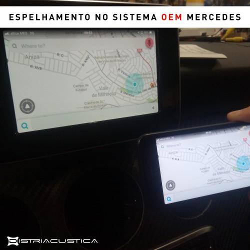 Mercedes A câmera
