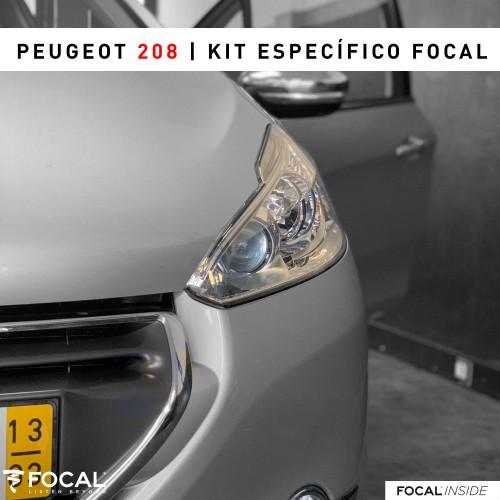 Peugeot 208 audio upgrade