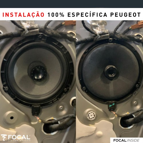 Peugeot 208 audio upgrade