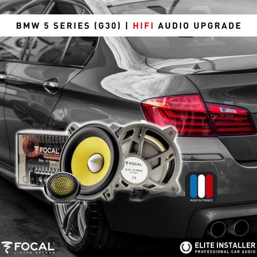 BMW G30 colunas