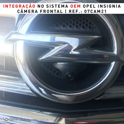 Opel Insignia câmera