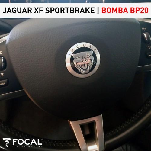 Jaguar XF Sportbrake subwoofer