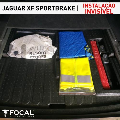 Jaguar XF subwoofer