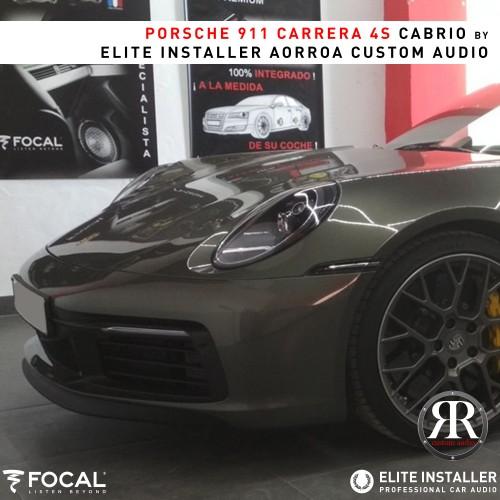 Porsche Carrera 4S colunas