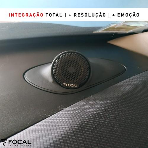 Peugeot 207 Focal altifalantes