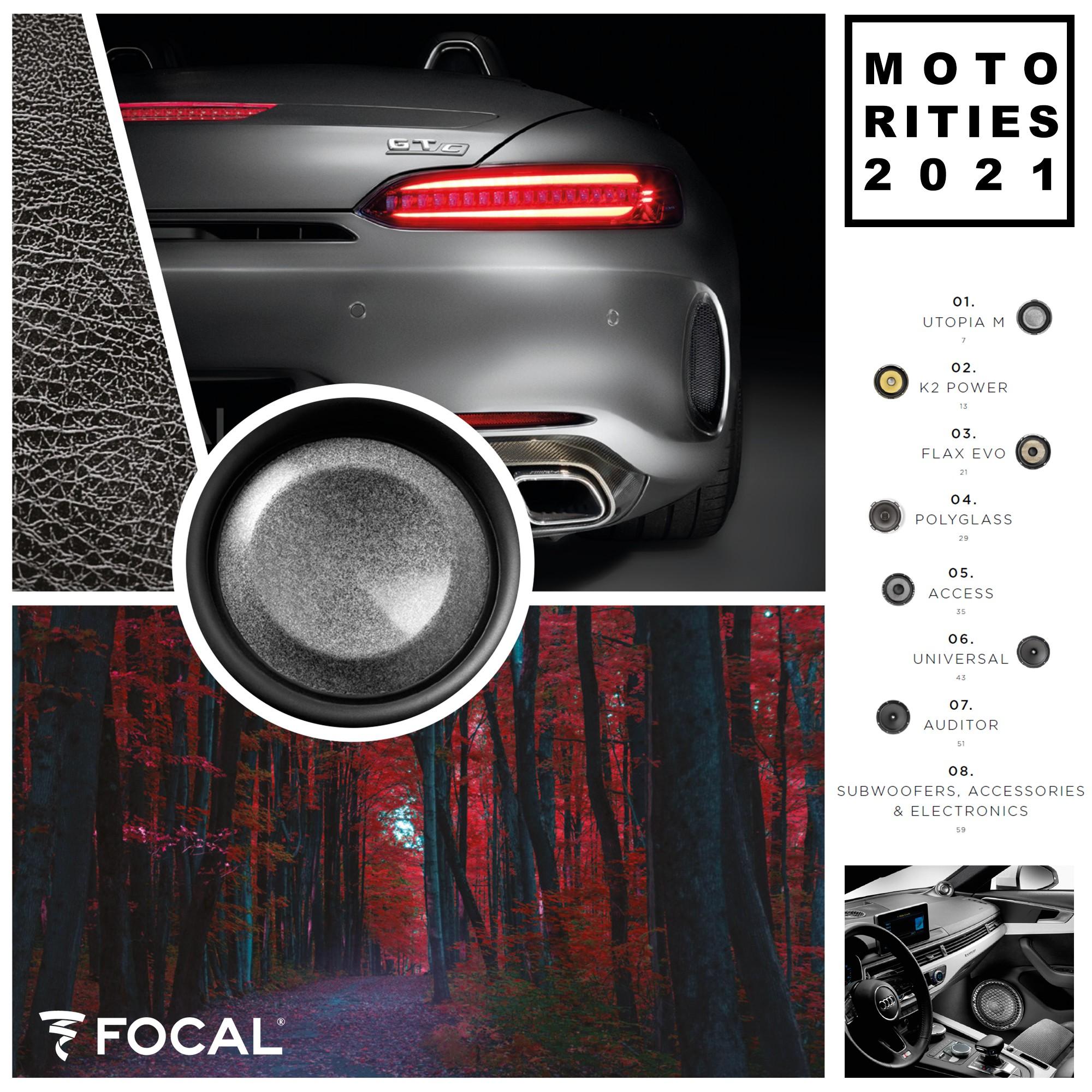 Catálogo Focal Motorities 2021