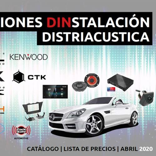 Catálogo Distriacustica España