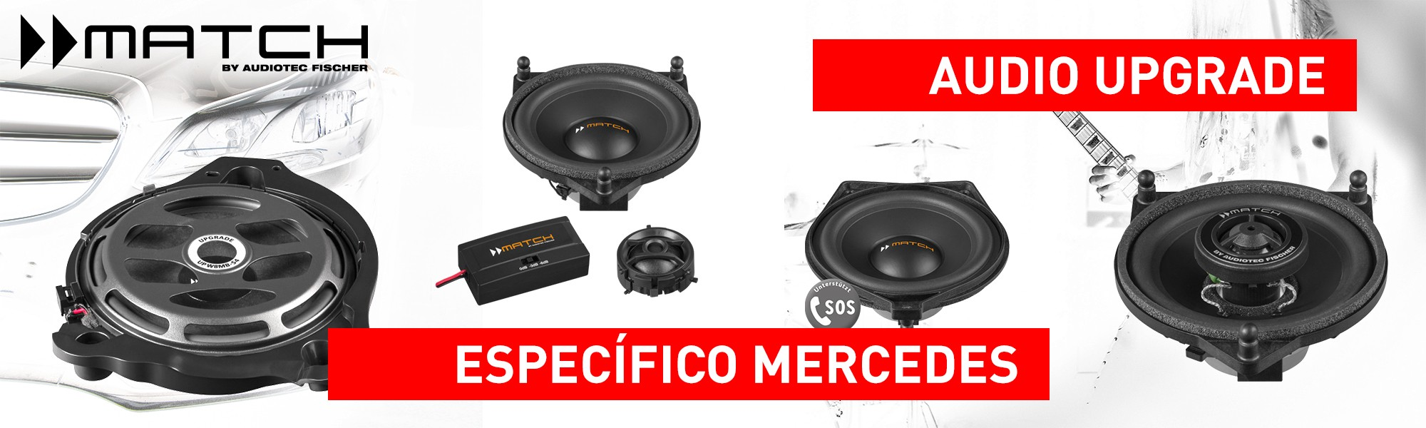 Mercedes Audio Upgrade Match