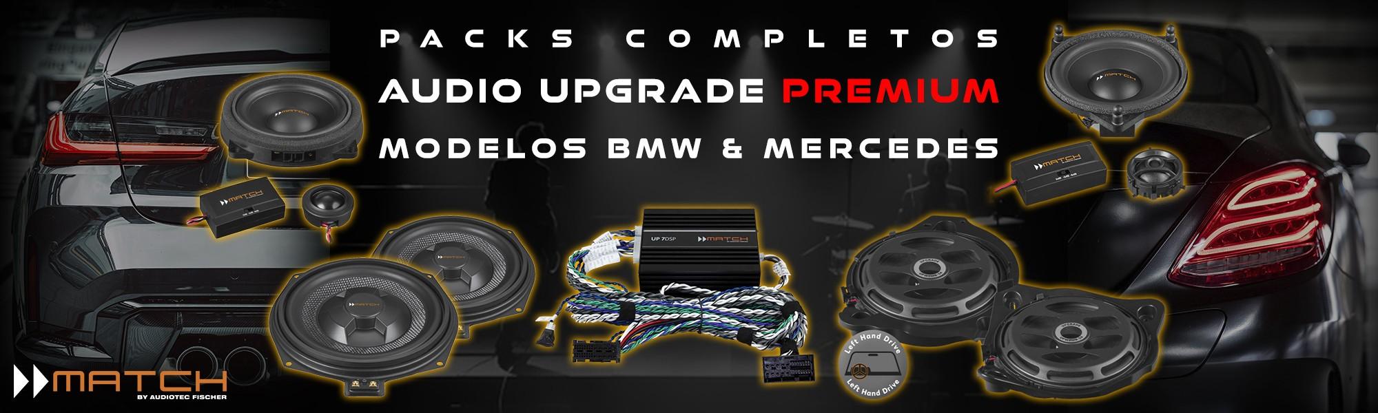 Packs audio premium BMW & Mercedes